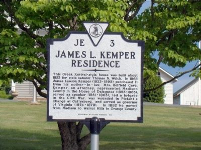 James L. Kemper Residence Marker image. Click for full size.