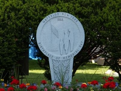The First Memorial Day Monument image. Click for full size.