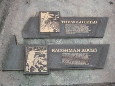 Wild Child and Baughman Rocks Markers image. Click for full size.