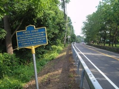 Marker on N Liberty Drive image. Click for full size.