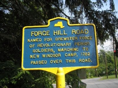 Forge Hill Road Marker image. Click for full size.