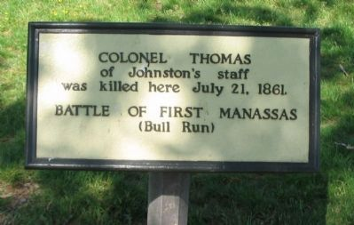 Colonel Thomas Marker image. Click for full size.