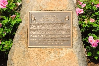 Shark River Salt Works Marker image. Click for full size.