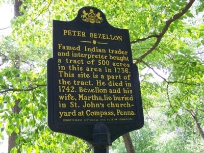 Peter Bezellon Marker image. Click for full size.