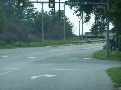 The Lincoln Highway leading into Coatesville. image. Click for full size.