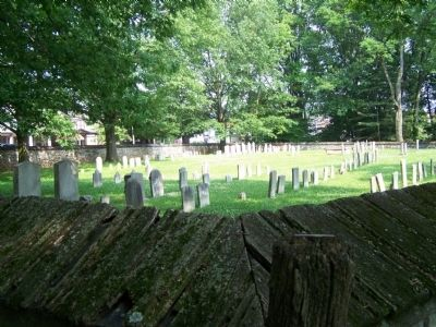 Ephrata Cloister Cemetery image. Click for full size.