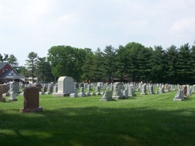 Landis Valley Cemetery image. Click for full size.