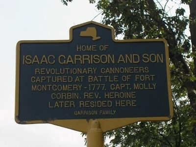 Garrison Home Marker image. Click for full size.
