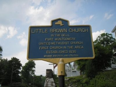 Little Brown Church Marker image. Click for full size.