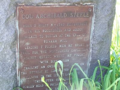Col. Archibald Steele image. Click for full size.