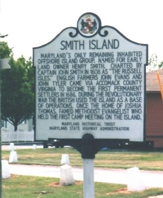 Smith Island Marker image. Click for full size.