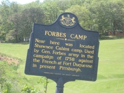 Forbes Camp Marker image. Click for full size.