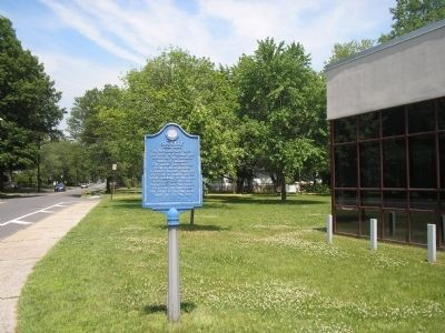 Marker on Spring Valley Road image. Click for full size.