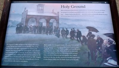 Holy Ground Marker image. Click for full size.