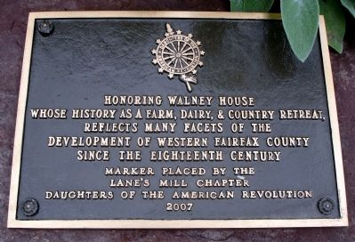Walney House Marker image. Click for full size.