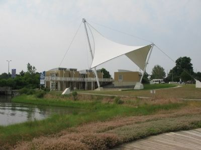 "The ""Sail"" at the Visitor Center image. Click for full size."