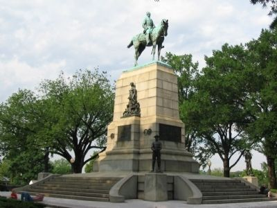 William Tecumseh Sherman Monument image. Click for full size.