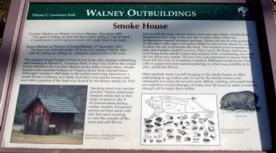 Walney Smoke House Marker image. Click for full size.