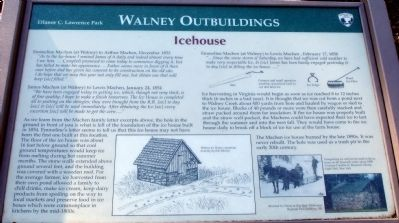 Walney Icehouse Marker image. Click for full size.