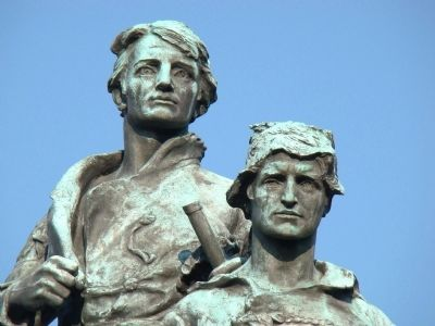 Meriwether Lewis and William Clark image. Click for full size.