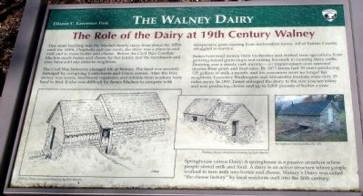 The Walney Dairy Marker image. Click for full size.