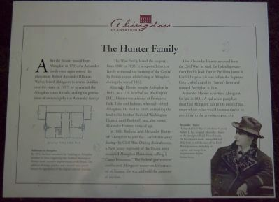 The Hunter Family Marker image. Click for full size.
