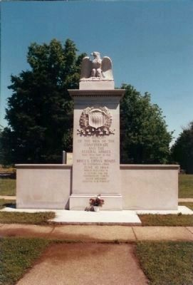 Battle of Brice's Cross Roads Marker image. Click for full size.