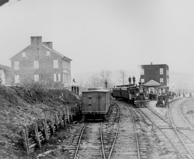 Hanover Junction Vital Railroad Crossroads image. Click for full size.