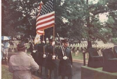 Memorial Day Ceremony, image. Click for full size.