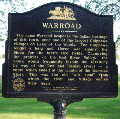 Warroad Marker image. Click for full size.