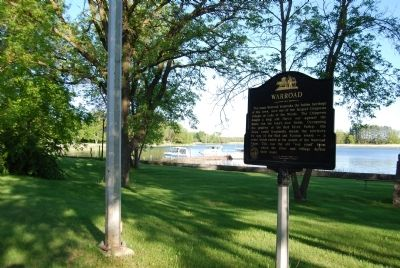 Warroad Marker on Lake Street image. Click for full size.