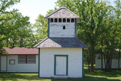 Bell Tower (constructed in 1906) image. Click for full size.