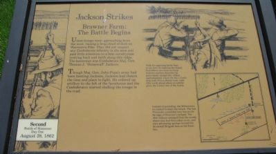 Jackson Strikes Marker image. Click for full size.