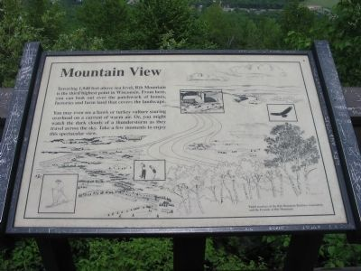 Mountain View Marker image. Click for full size.