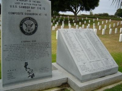 The Gambier Bay/VC-10 Memorial image. Click for full size.