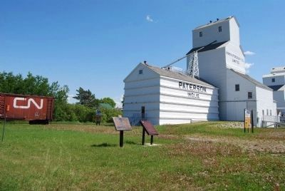 Inglis Grain Elevators Marker image. Click for full size.