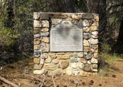 North Bloomfield Mining and Gravel Company Marker image. Click for full size.