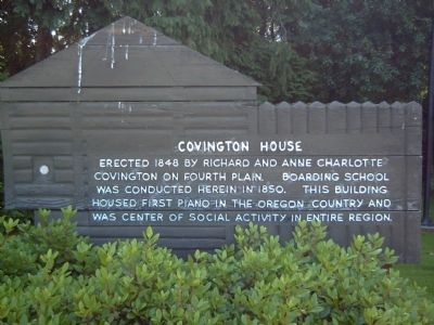Covington House Marker image. Click for full size.