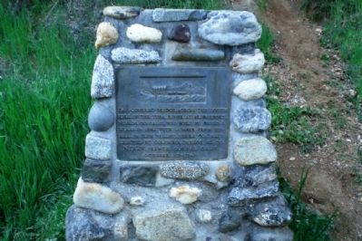 Bridgeport Bridge Marker - north side of bridge image. Click for full size.