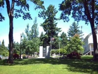 Clark County Veterans Memorial Marker image. Click for full size.