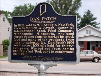 Side Two: Dan Patch Marker image. Click for full size.
