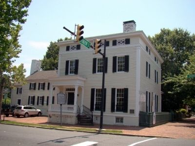 Lee-Fendall House and Marker image. Click for full size.