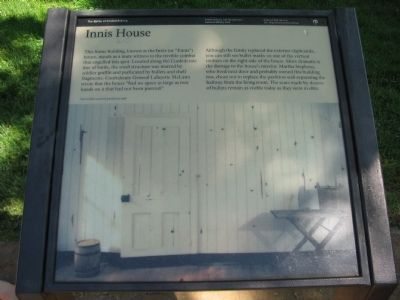 Innis House Marker image. Click for full size.