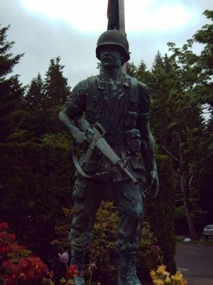 The Vietnam Monument image. Click for full size.