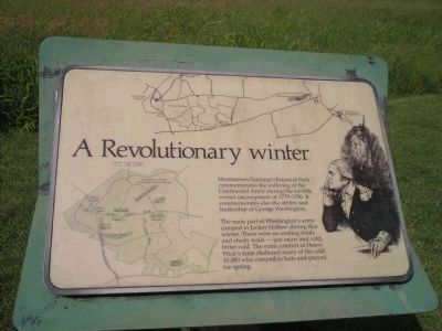 A Revolutionary Winter Marker image. Click for full size.