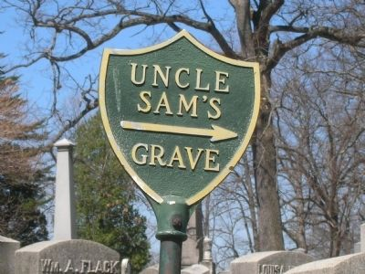 Uncle Sam's Grave image. Click for full size.