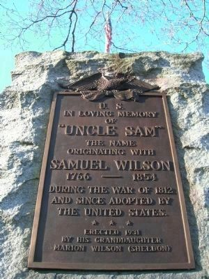 Uncle Sam Monument - Oakwood Cemetery image. Click for full size.