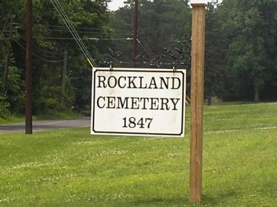 Rockland Cemetery image. Click for full size.