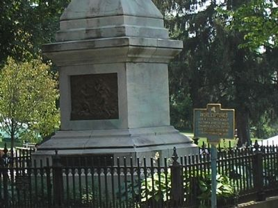 Marker in Patriots' Park image. Click for full size.
