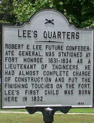 Lee's Quarters Marker image. Click for full size.
